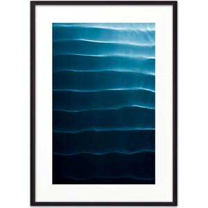 Постер в рамке Дом Корлеоне Водная рябь 30x40 см