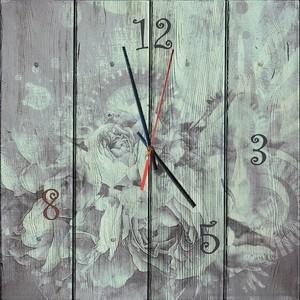 Настенные часы Дом Корлеоне Время цветов 30x30 см фото