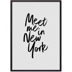 Постер в рамке Дом Корлеоне Встреча в Нью-Йорке 40x60 см ужас торнадо в нью йорке