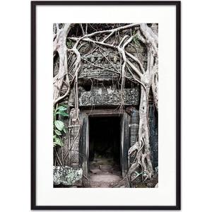 Постер в рамке Дом Корлеоне Вход в древний храм 40x60 см фото