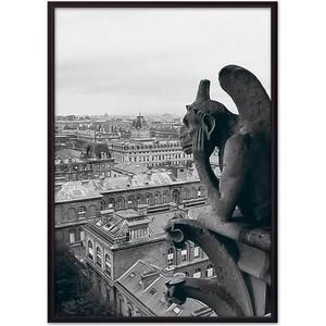 Постер в рамке Дом Корлеоне Гаргулья Нотр-Дам 50x70 см