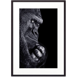 Постер в рамке Дом Корлеоне Горилла 50x70 см