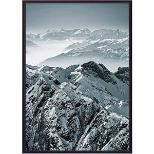 Постер в рамке Дом Корлеоне Горы 50x70 см
