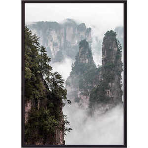 Постер в рамке Дом Корлеоне Горы Китай 21x30 см