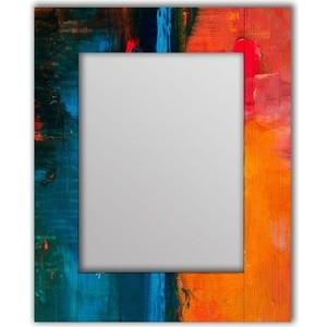 Настенное зеркало Дом Корлеоне Гранж Оранж 90x90 см