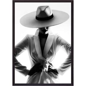 Постер в рамке Дом Корлеоне Девушка белом 21x30 см