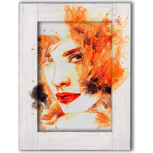 Картина с арт рамой Дом Корлеоне Девушка с рыжими волосами 60x80 см зрительная труба veber snipe super 20 60x80 gr zoom