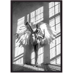 Постер в рамке Дом Корлеоне Девушка-ангел №1 21x30 см