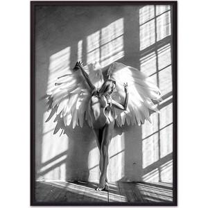 Постер в рамке Дом Корлеоне Девушка-ангел №1 40x60 см вулф т взгляни на дом свой ангел