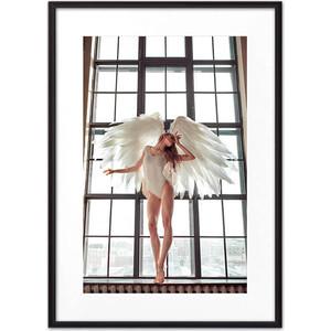 Постер в рамке Дом Корлеоне Девушка-ангел №2 30x40 см вулф т взгляни на дом свой ангел