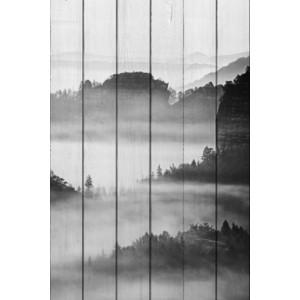 Картина на дереве Дом Корлеоне Долина 100x150 см