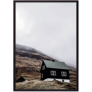 цена Постер в рамке Дом Корлеоне Домик в горах 21x30 см