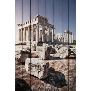 Картина на дереве Дом Корлеоне Древняя Греция 80x120 см