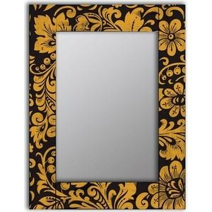 Настенное зеркало Дом Корлеоне Желтые цветы 80x80 см