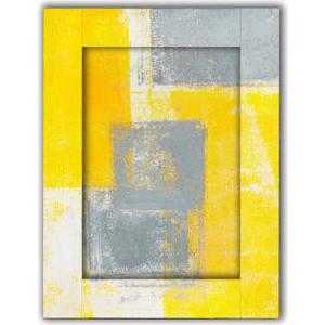 Картина с арт рамой Дом Корлеоне Желтый и серый 35x45 см фото