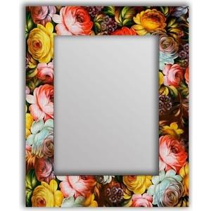 Настенное зеркало Дом Корлеоне Жостовская роспись 50x65 см