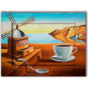 Картина с арт рамой Дом Корлеоне Завтрак 60x80 см фото