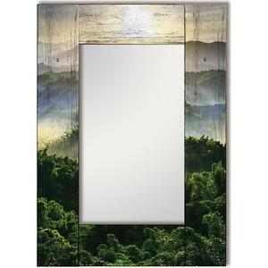 Настенное зеркало Дом Корлеоне Зеленая долина 90x90 см