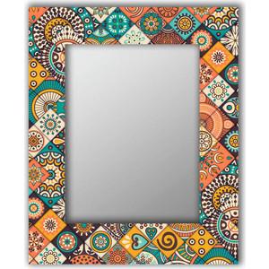 Настенное зеркало Дом Корлеоне Индийская плитка 80x80 см