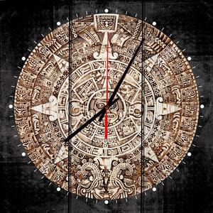Настенные часы Дом Корлеоне Календаль Майя 30x30 см фото