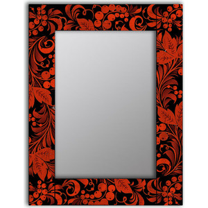 Настенное зеркало Дом Корлеоне Калина 55x55 см