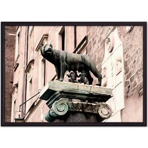 цена на Постер в рамке Дом Корлеоне Капитолийская волчица 30x40 см