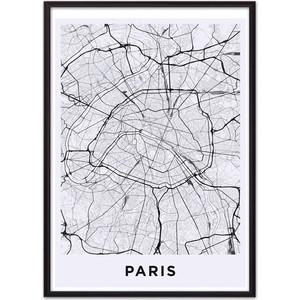 Постер в рамке Дом Корлеоне Карта Париж 21x30 см постер в рамке дом корлеоне крыши париж 21x30 см