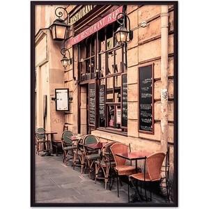 Постер в рамке Дом Корлеоне Кафе в париже 40x60 см фото