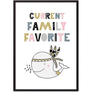 Постер в рамке Дом Корлеоне Кит Family 40x60 см