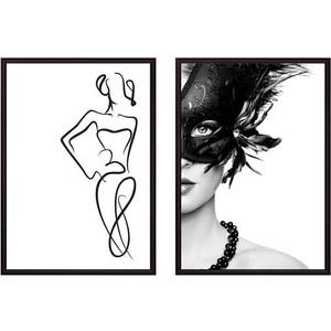 Набор из 2-х постеров Дом Корлеоне Коллаж Fashion №1 50х70 см 2 шт.