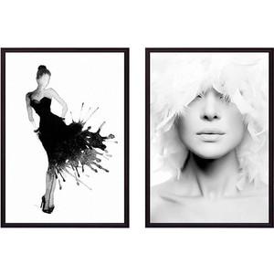Набор из 2-х постеров Дом Корлеоне Коллаж Fashion №14 50х70 см 2 шт.