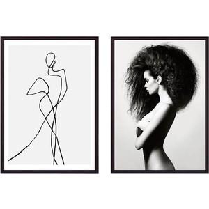 Набор из 2-х постеров Дом Корлеоне Коллаж Fashion №18 50х70 см 2 шт.