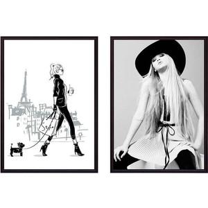 Набор из 2-х постеров Дом Корлеоне Коллаж Fashion №19 40х60 см 2 шт. набор из 2 х постеров дом корлеоне коллаж fashion 12 40х60 см 2 шт