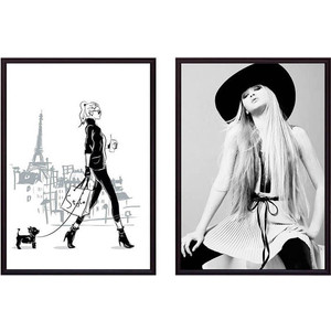 Набор из 2-х постеров Дом Корлеоне Коллаж Fashion №19 50х70 см 2 шт.