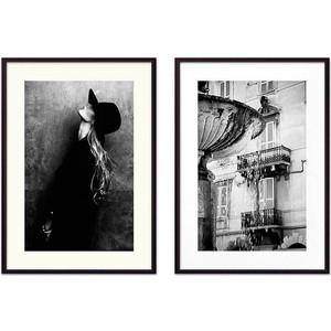 Набор из 2-х постеров Дом Корлеоне Коллаж Fashion №22 50х70 см 2 шт.