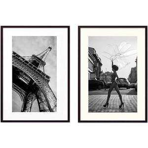Набор из 2-х постеров Дом Корлеоне Коллаж Fashion №24 21х30 см 2 шт.