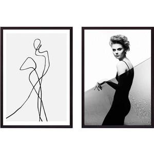 Набор из 2-х постеров Дом Корлеоне Коллаж Fashion №27 50х70 см 2 шт.