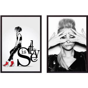 Набор из 2-х постеров Дом Корлеоне Коллаж Fashion №3 50х70 см 2 шт.