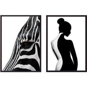 Набор из 2-х постеров Дом Корлеоне Коллаж Fashion №36 30х40 см 2 шт.