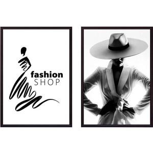 Набор из 2-х постеров Дом Корлеоне Коллаж Fashion №4 40х60 см 2 шт.