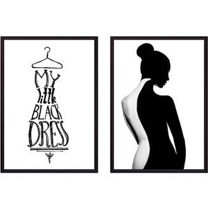 Набор из 2-х постеров Дом Корлеоне Коллаж Fashion №43 50х70 см 2 шт.