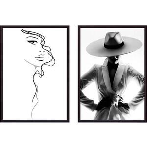 цена на Набор из 2-х постеров Дом Корлеоне Коллаж Fashion №5 30х40 см 2 шт.