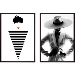 Набор из 2-х постеров Дом Корлеоне Коллаж Fashion №6 50х70 см 2 шт.
