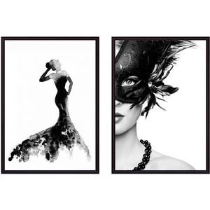 Набор из 2-х постеров Дом Корлеоне Коллаж Fashion №7 40х60 см 2 шт.