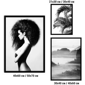 Набор из 3-х постеров Дом Корлеоне Коллаж Fashion №72 21х30 см 1 шт., 30х40 40х60 1шт.