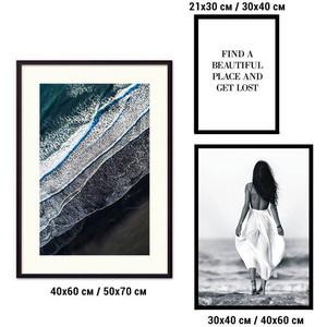 Набор из 3-х постеров Дом Корлеоне Коллаж Fashion №75 21х30 см 1 шт., 30х40 40х60 1шт.