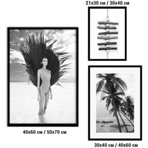 Набор из 3-х постеров Дом Корлеоне Коллаж Fashion №82 30х40 см 1 шт., 40х60 50х70 1шт.