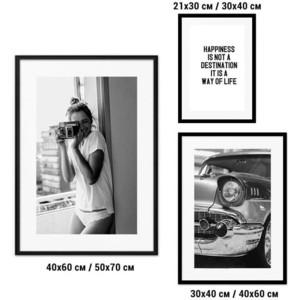 Набор из 3-х постеров Дом Корлеоне Коллаж Fashion №86 21х30 см 1 шт., 30х40 40х60 1шт.