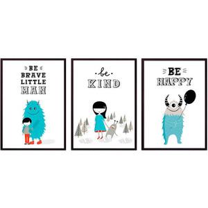 Набор из 3-х постеров Дом Корлеоне Коллаж Детский №101 40х60 см 3 шт. набор из 3 х постеров дом корлеоне коллаж детский 85 40х60 см 3 шт