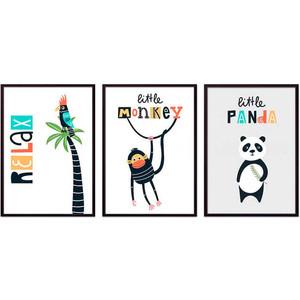 Набор из 3-х постеров Дом Корлеоне Коллаж Детский №68 40х60 см 3 шт. набор из 3 х постеров дом корлеоне коллаж детский 85 40х60 см 3 шт